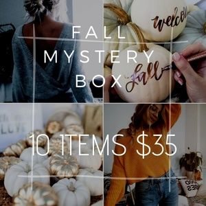 Fall Mystery Box Size M 10 items $35